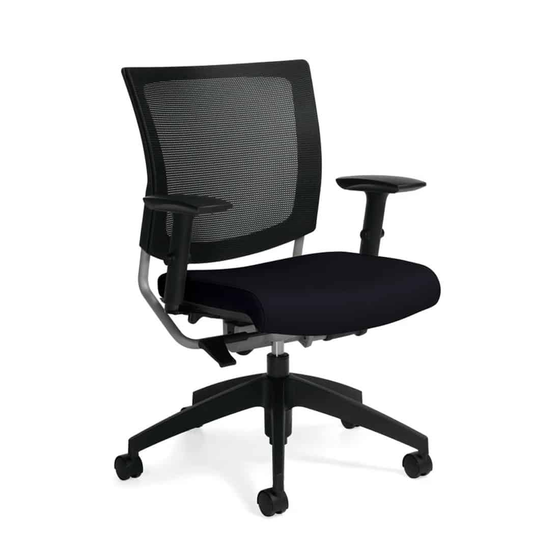 Graphic desk chair