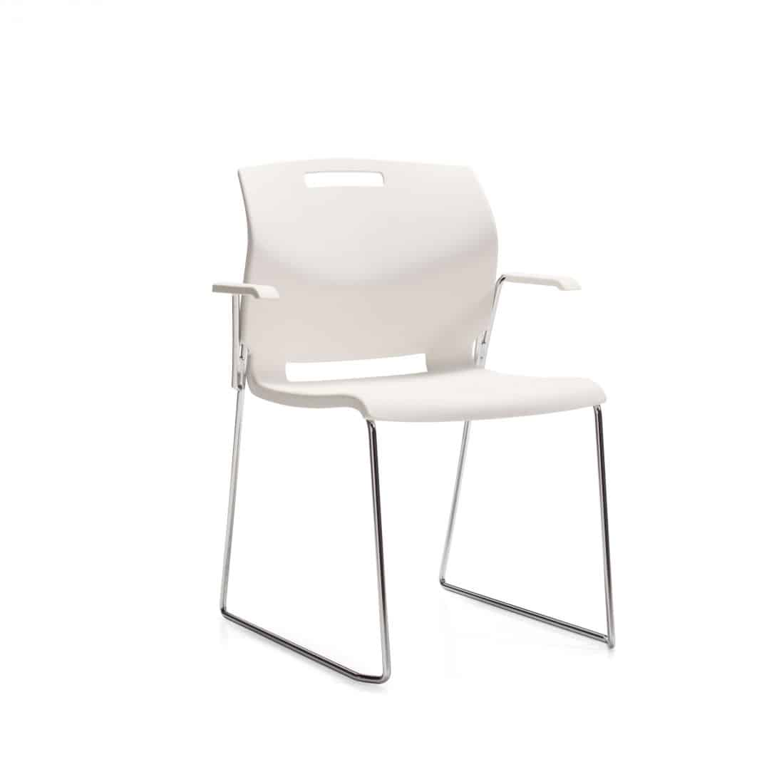 global guest chair, poly