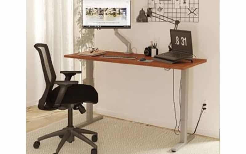 home office height adjustable desk