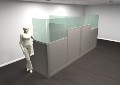 Cubicles for Social Distancing
