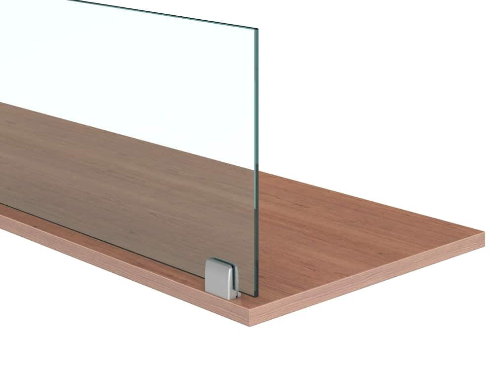 glass desk dividers/sneeze guards