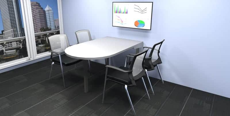 Huddle room table - Joyce Contract Interiors