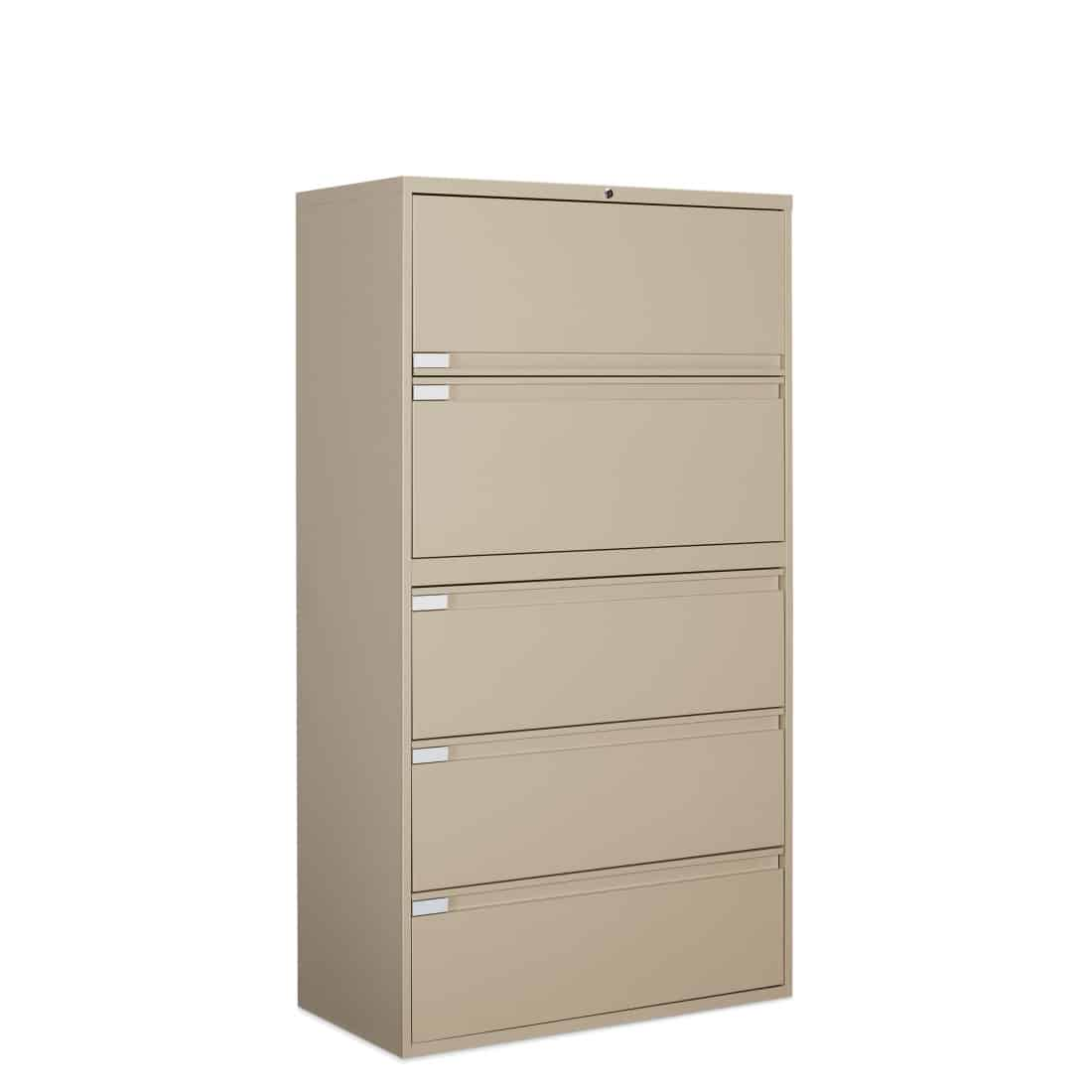 5 drawer lateral file 36W